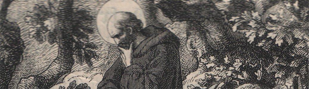 San Benedetto da Norcia, in Otto Bitschnau osb., Das Leben der Heiligen Gottes, Einsiedeln, 1883.