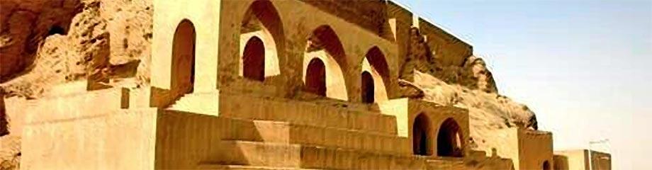 Chiesa Verde Tikrit, Iraq, distrutta dall'Isis.
