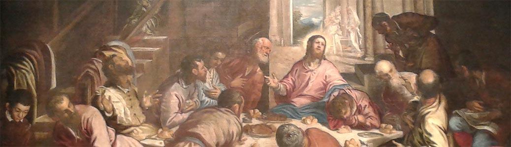 Dentro il Padiglione. Il Tintoretto, l'Ultima cena e l'arte dei Vangeli
