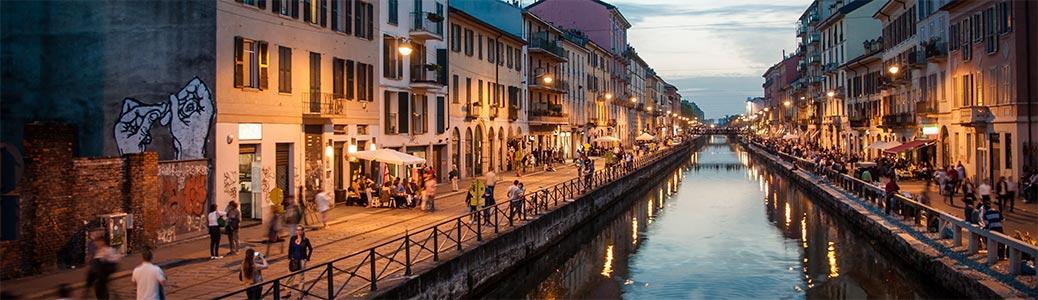 Milano, Navigli.