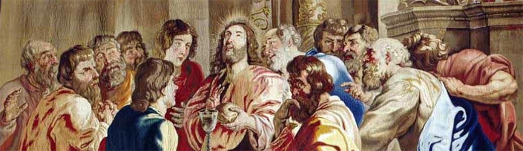 Pieter Paul Rubens, Istituzione dell'Eucaristia, 1632-1650, Ancona, Museo diocesano.