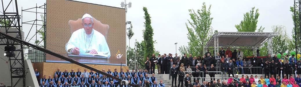 Video-messaggio di papa Francesco per l'inaugurazione dell'Expo di Milano 2015.