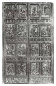 Vico Consorti, Porta Santa della Basilica di San Pietro, Roma, 1949.