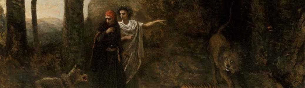 Dante incontra Virgilio nella selva. Misericordia