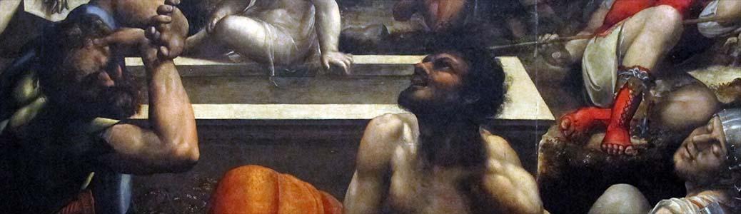 Sodoma, Resurrezione di Cristo, 1534, Napoli, Museo di Capodimonte.