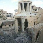 Deir ez-Zor, Chiesa dei martiri armeni, Siria. Distrutta