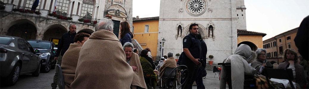 Monastero San Benedetto, Norcia, terremoto