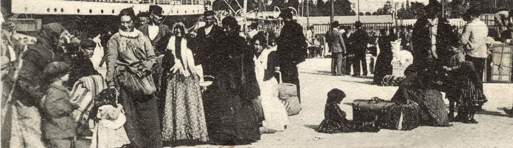 Emigranti Australia, Genova