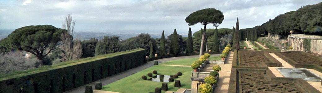 Giardini di Castel Gandolfo, museo