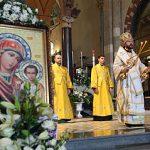 Concelebrazione di rito ortodosso nella basilica di Sant'Ambrogio presieduta dal metropolita di Mosca Hilarion, 17 maggio 2010