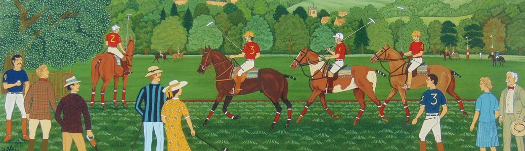 Vincent Haddelsey, Partita di polo, 1934-2010.