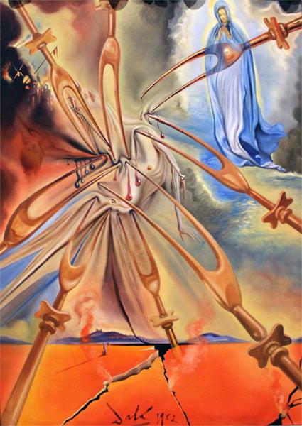 L'inferno di Fatima che convertì Salvador Dalí