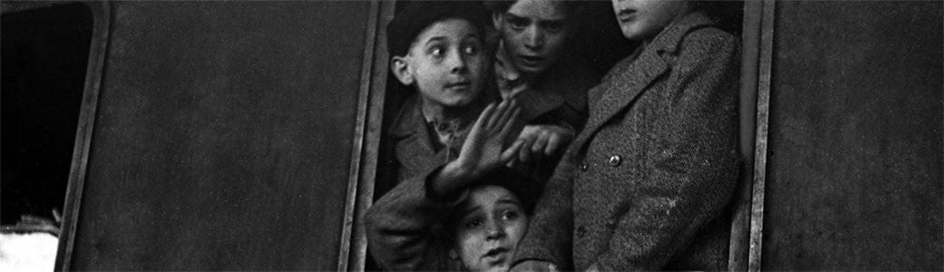 Stazione di Milano Dateo, storia del brefotrofio, bambini in treno