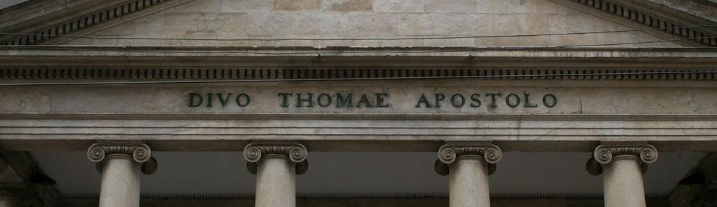 Chiesa di San Tomaso in Terramara, Milano, storia
