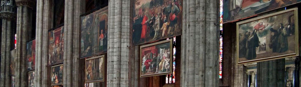 Quadroni di San Carlo, Duomo di Milano