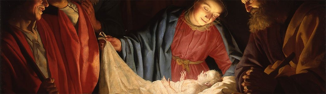 Gerard-van-Honthorst, Adorazione dei pastori, Natale, Natività
