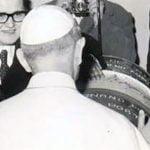 Paolo VI e il presepe nel barile