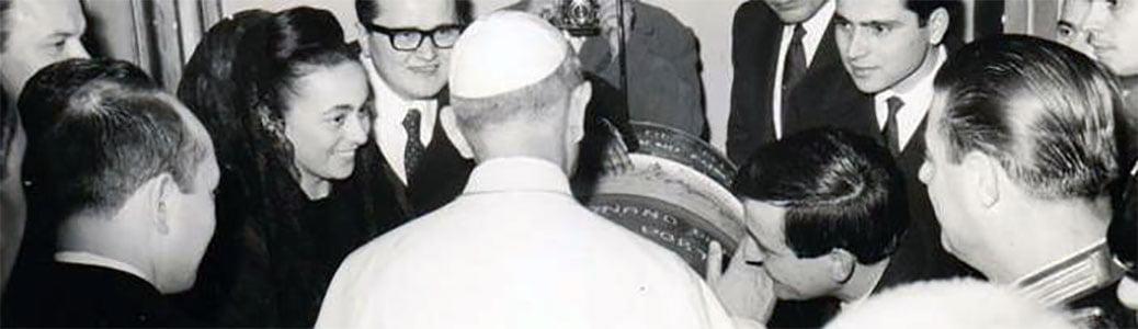 Paolo VI, presepe barile galleggiante, Bruno Batori