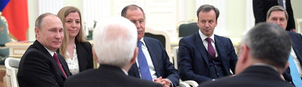 Vladimir Putin e Sergio Mattarella