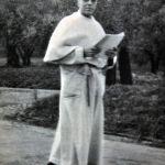 CastelGandolfo, 1958. Una delle ultime foto scattate a PioXII, qui in veste da bagno