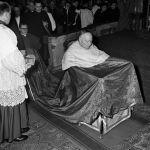 Roma, 12 gennaio 1953. Il polacco Stefan Wyszyński creato cardinale all'ultimo concistoro presieduto da PioXII