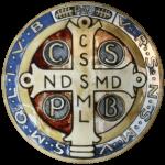 Medaglia di san Benedetto (verso?)