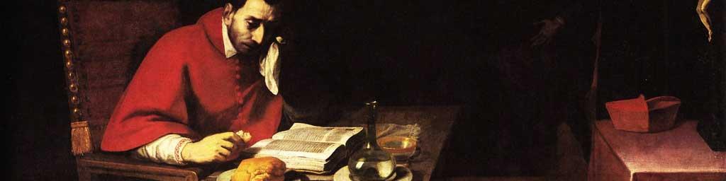Daniele Crespi, Digiuno di san Carlo Borromeo, 1625 c., Milano, chiesa di Santa Maria della Passione.