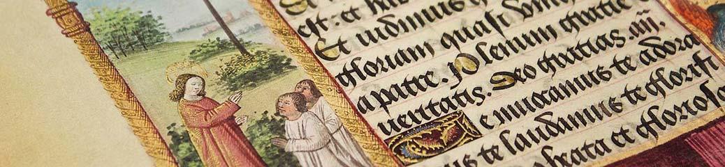 Bibbia miniata (particolare), seconda metà del XV secolo, Parigi, Bibliothèque nationale de France (Ms. lat 920).