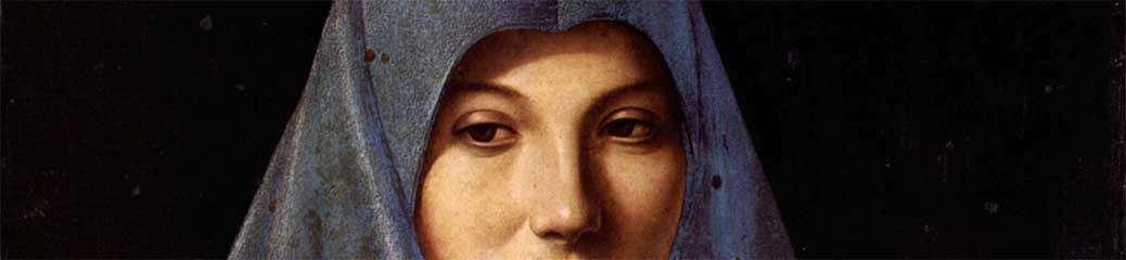 Antonello da Messina, Vergine Annunziata, 1476 c., Palermo, Palazzo Abatellis.