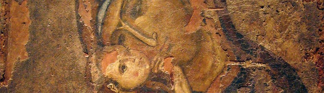 Icona della Vergine della tenerezza (glykophilousa)