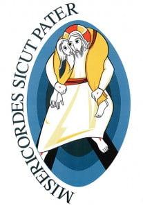 Mark Rupnik, Cristo buon pastore, logo del Giubileo della misericordia