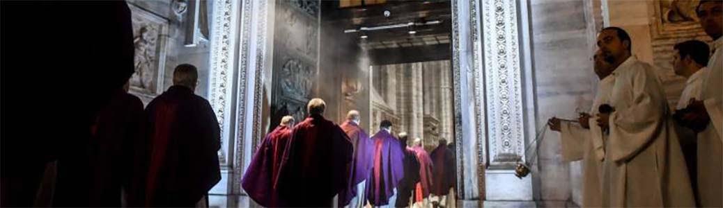 Apertura Porta Santa, Duomo di Milano, card. Angelo Scola, Giubileo della misericordia