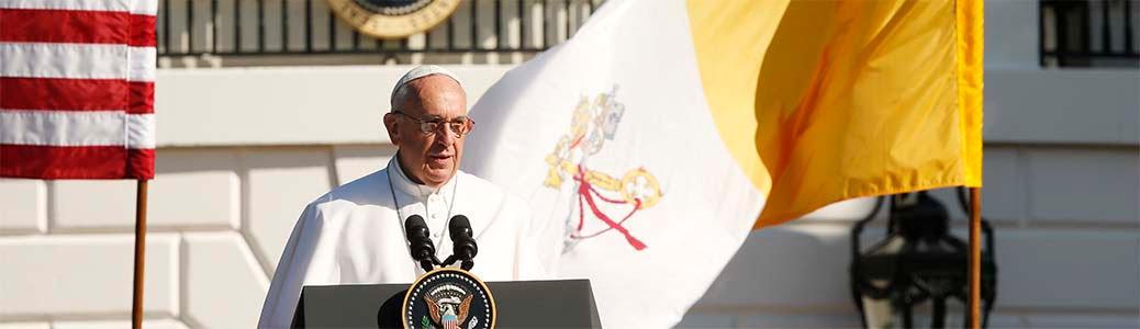 Papa Francesco, Stati Uniti, Casa Bianca