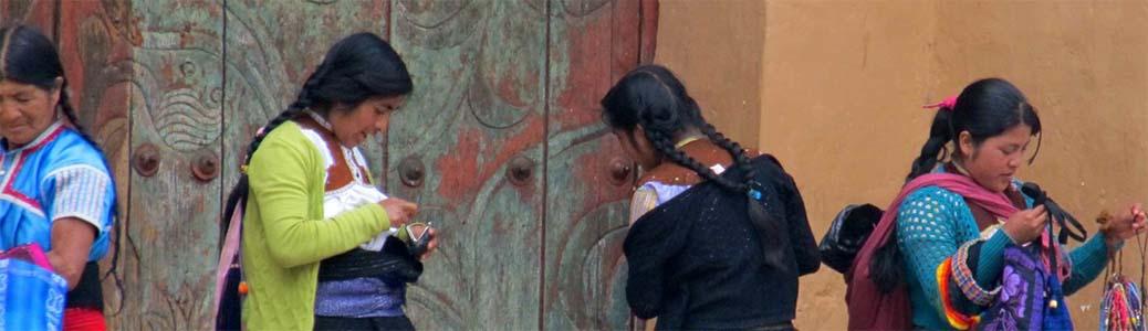 Donne di etnia tzotzil, Messico