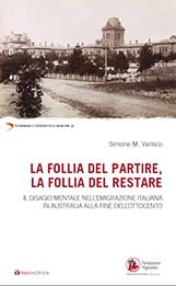 Simone M. Varisco, La follia del partire la follia del restare, libro, Tau editrice, Fondazione Migrantes, copertina