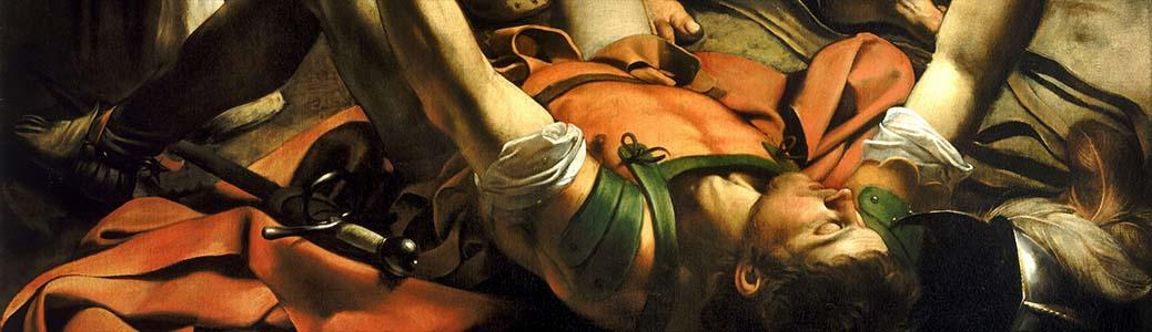 Caravaggio, Conversione di san Paolo, 1600-1601, Roma, basilica di Santa Maria del Popolo
