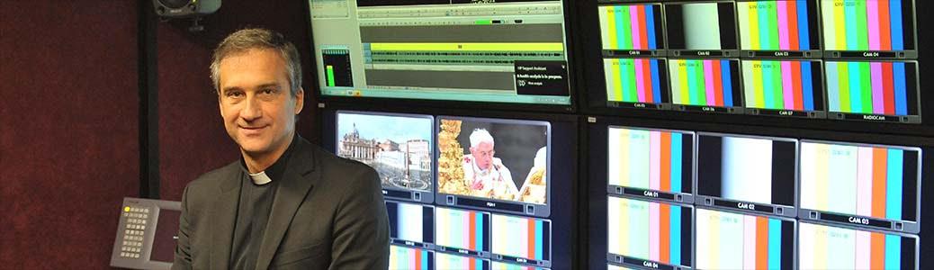 Mons. Dario Edoardo Viganò, riforma media vaticani