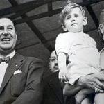 Bergoglio bambino con Peron ed Evita?