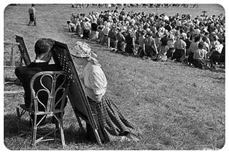 Fotografia VaticanoVintage, Marc Riboud, Confessioni Chartres, foto d'epoca Chiesa