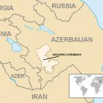 Nagorno-Karabakh, mappa