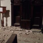 Monastero San Benedetto, Norcia. Danni del terremoto
