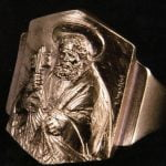 L'anello del pescatore di papa Francesco