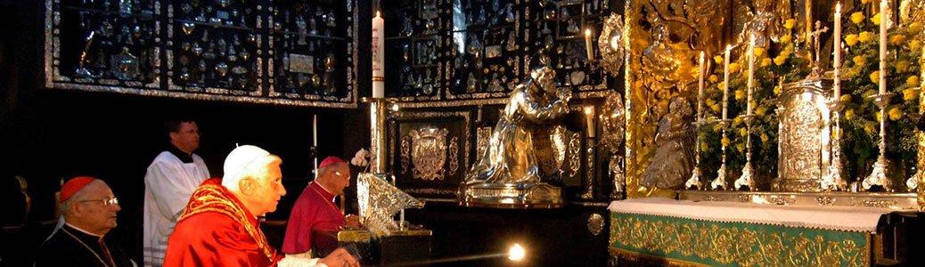 Benedetto XVI nella Gnadenkapelle di Altötting, Cappella delle Grazie