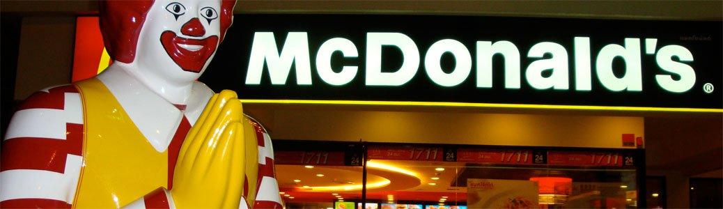 McDonald's Vaticano, Borgo Pio, Roma