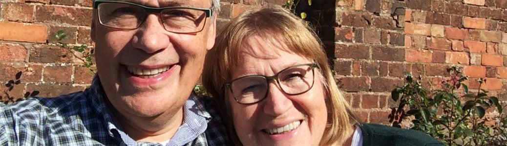Ulf Ekman e la moglie Birgitta