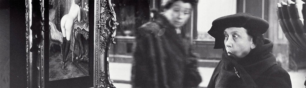Doisneau, Dame Indignée, fotografia. Papa Francesco e aborto