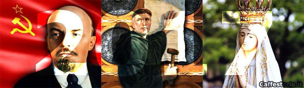 2017, anno a tre voci: Maria, Lutero e Lenin