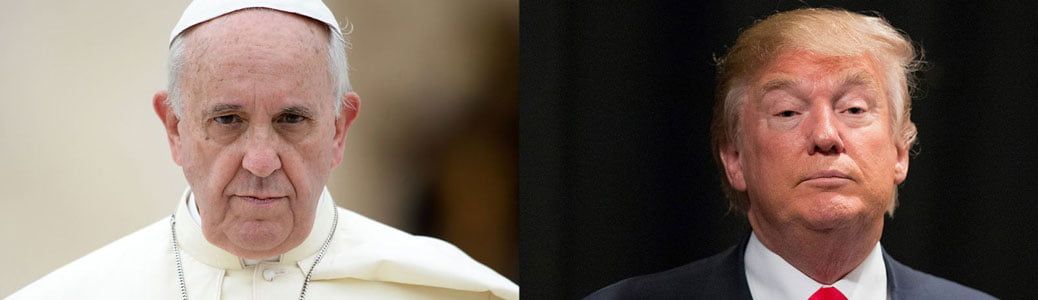 Papa Francesco, Donald Trump