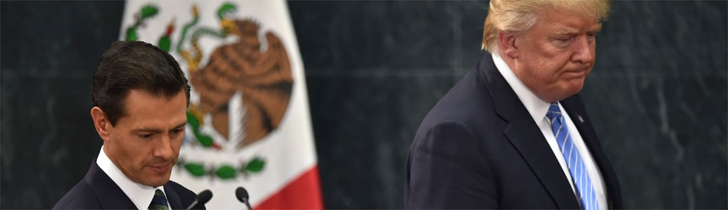 Enrique Peña Nieto, Donald Trump e papa Francesco