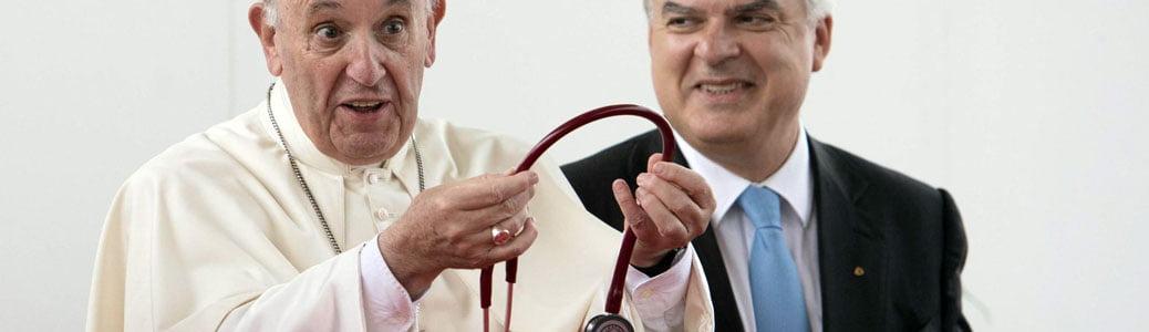 Papa Francesco, cardiologi e malattie